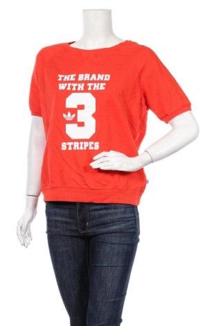 Дамска блуза Adidas Originals, Размер L, Цвят Червен, Памук, Цена 25,20лв.