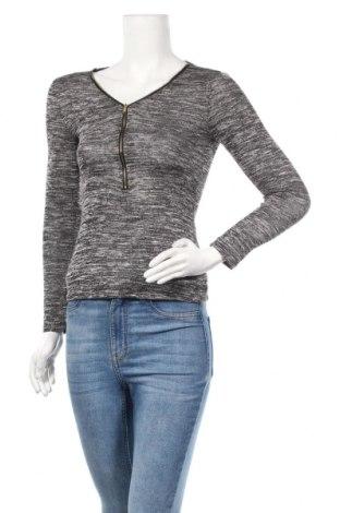 Дамска блуза Ambiance, Размер S, Цвят Сив, 46% полиестер, 50% вискоза, 4% еластан, Цена 11,81лв.