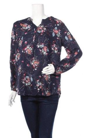 Дамска блуза Andrea, Размер M, Цвят Син, Вискоза, Цена 10,87лв.