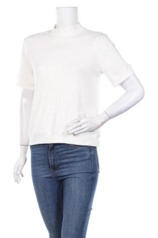 Дамска блуза Anthropologie, Размер L, Цвят Бял, 95% памук, 5% еластан, Цена 49,14лв.