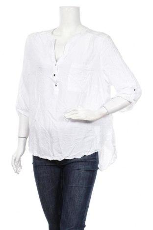 Дамска блуза Canda, Размер XXL, Цвят Бял, Вискоза, Цена 14,18лв.