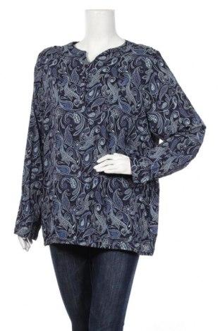 Дамска блуза Cool Code, Размер XXL, Цвят Син, Вискоза, Цена 17,96лв.
