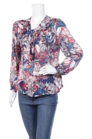 Дамска блуза Faded Glory, Размер S, Цвят Многоцветен, 99% полиестер, 1% метални нишки, Цена 6,98лв.