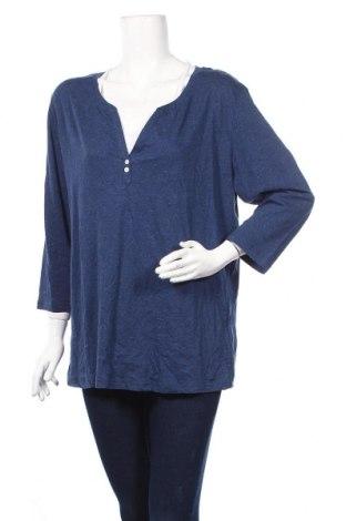 Дамска блуза Hampton Republic, Размер XL, Цвят Син, 70% памук, 30% лен, Цена 12,50лв.