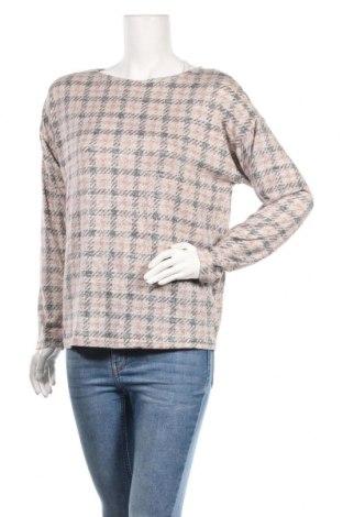 Дамска блуза Nkd, Размер M, Цвят Многоцветен, 51% вискоза, 46% полиестер, 3% еластан, Цена 9,45лв.
