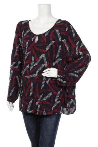 Дамска блуза Samoon, Размер 4XL, Цвят Многоцветен, Вискоза, Цена 10,97лв.