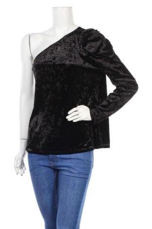 Дамска блуза V by Very, Размер XL, Цвят Черен, 94% полиестер, 6% еластан, Цена 5,20лв.