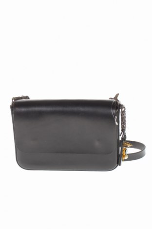 Дамска чанта, Цвят Черен, Естествена кожа, Цена 59,28лв.