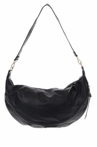 Дамска чанта Anthropologie, Цвят Черен, Еко кожа, Цена 32,34лв.