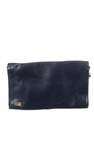 Дамска чанта Charles, Цвят Син, Естествена кожа, Цена 40,95лв.