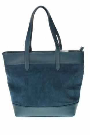 Дамска чанта Orsay, Цвят Син, Еко кожа, текстил, Цена 32,76лв.