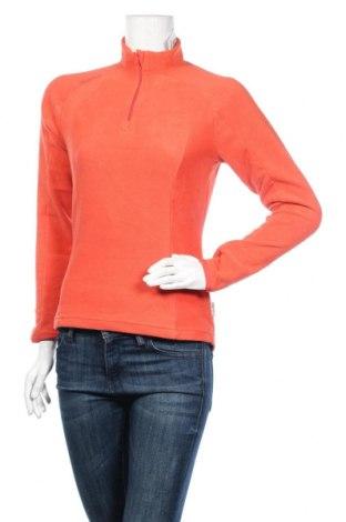 Дамска поларена блуза, Размер XS, Цвят Оранжев, Полиестер, Цена 16,96лв.