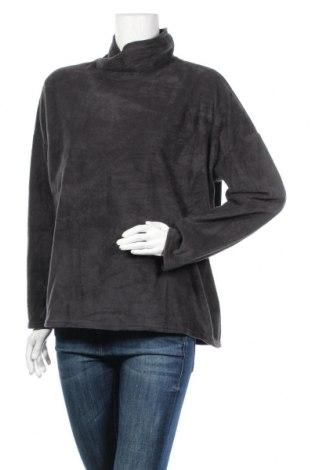 Дамска поларена блуза, Размер XXL, Цвят Сив, Цена 11,76лв.