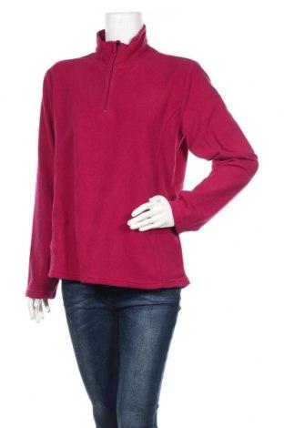 Дамска поларена блуза Crane, Размер L, Цвят Лилав, Полиестер, Цена 10,08лв.