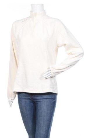 Дамска поларена блуза Decathlon Creation, Размер XL, Цвят Бял, Полиестер, Цена 6,93лв.