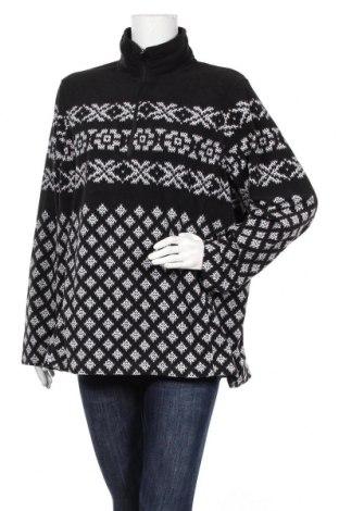 Дамска поларена блуза Land's End, Размер XL, Цвят Черен, Полиестер, Цена 16,96лв.