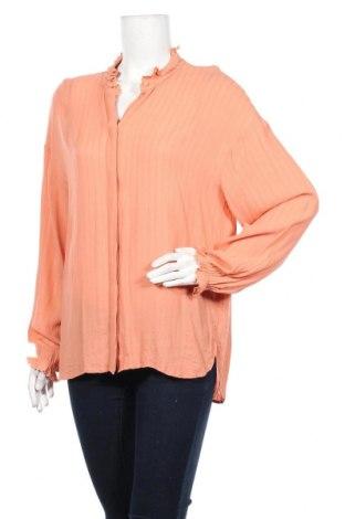 Дамска риза & Other Stories, Размер L, Цвят Розов, 92% вискоза, 8% памук, Цена 9,20лв.