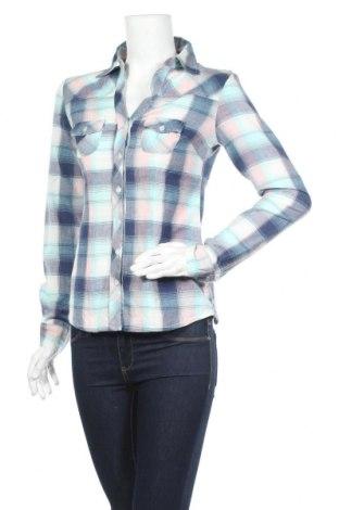 Дамска риза Ajc, Размер S, Цвят Многоцветен, Памук, Цена 13,23лв.