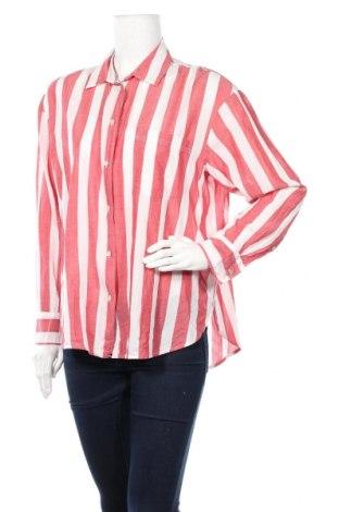 Дамска риза H&M, Размер M, Цвят Бял, Памук, Цена 10,80лв.