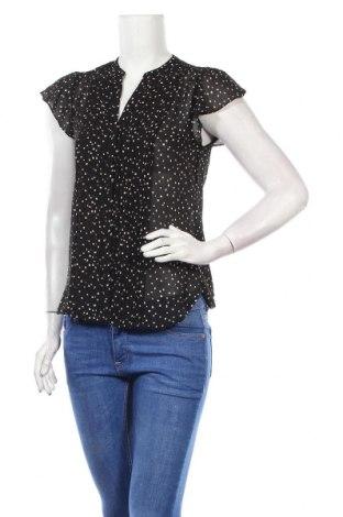 Дамска риза H&M Conscious Collection, Размер S, Цвят Черен, Полиестер, Цена 28,14лв.