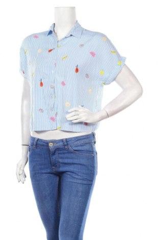 Дамска риза Sinsay, Размер S, Цвят Бял, Вискоза, Цена 7,70лв.