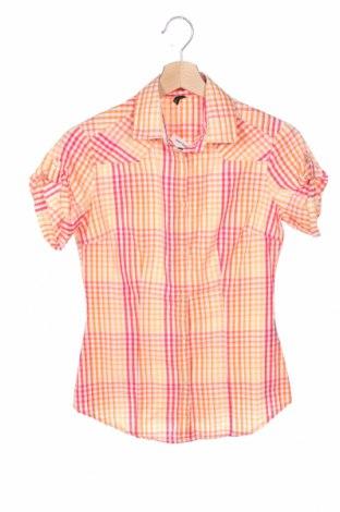 Дамска риза United Colors Of Benetton, Размер XS, Цвят Многоцветен, Памук, Цена 9,90лв.