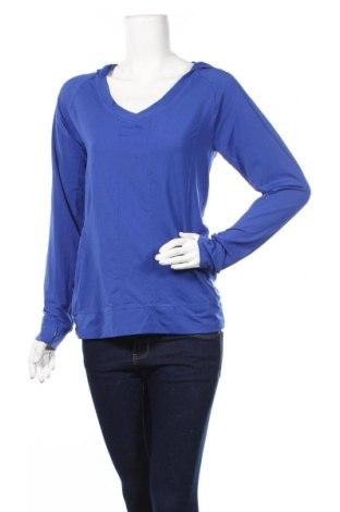 Дамска спортна блуза, Размер M, Цвят Син, Полиамид, еластан, Цена 14,33лв.