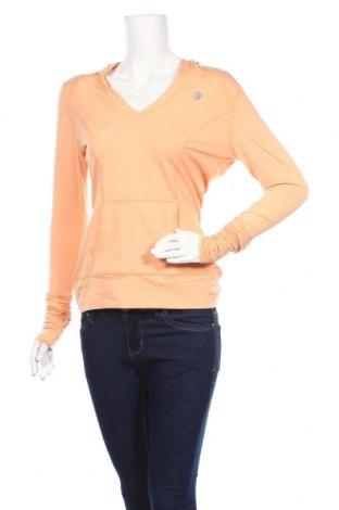 Дамска спортна блуза Active&Co, Размер M, Цвят Оранжев, Полиестер, еластан, Цена 24,99лв.