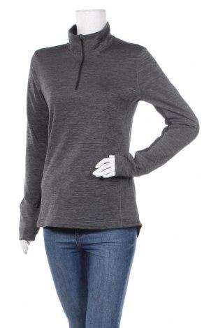 Дамска спортна блуза Active&Co, Размер M, Цвят Сив, Полиестер, Цена 18,74лв.