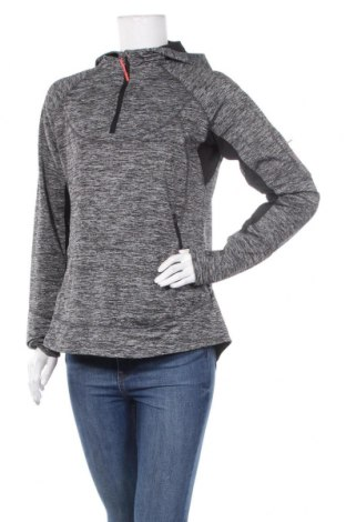 Дамска спортна блуза Active&Co, Размер L, Цвят Сив, Полиестер, еластан, Цена 12,29лв.