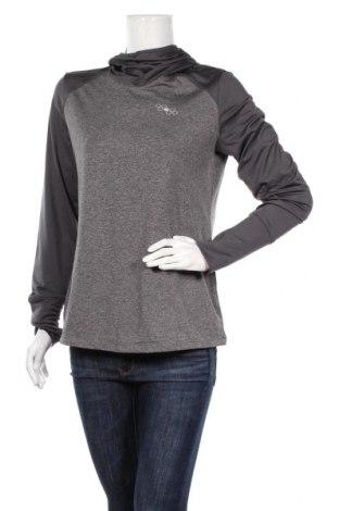 Дамска спортна блуза Crivit, Размер M, Цвят Сив, 92% полиестер, 8% еластан, Цена 14,18лв.