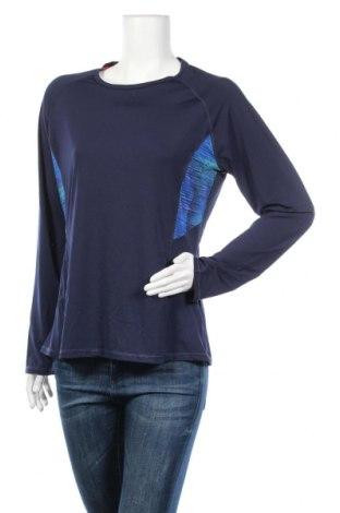 Дамска спортна блуза Emerson, Размер XL, Цвят Син, Полиестер, еластан, Цена 15,23лв.
