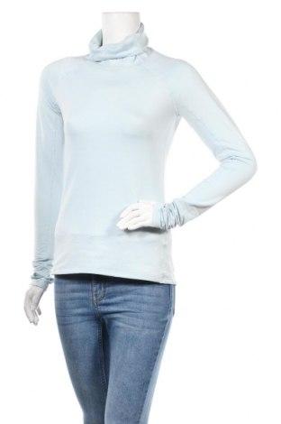 Дамска спортна блуза H&M Sport, Размер S, Цвят Син, 90% полиестер, 10% еластан, Цена 11,76лв.