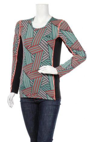 Дамска спортна блуза Kari Traa, Размер S, Цвят Многоцветен, 90% полиестер, 10% еластан, Цена 17,96лв.