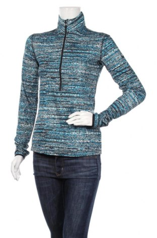 Дамска спортна блуза Nike, Размер M, Цвят Многоцветен, 88% полиестер, 12% еластан, Цена 32,13лв.