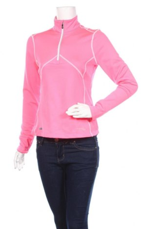 Дамска спортна блуза Saucony, Размер S, Цвят Розов, 92% полиестер, 8% еластан, Цена 16,96лв.