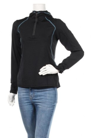 Дамска спортна блуза TCM, Размер S, Цвят Черен, Полиестер, Цена 13,23лв.