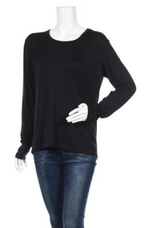 Дамска спортна блуза TCM, Размер XL, Цвят Черен, 97% полиестер, 3% еластан, Цена 7,98лв.