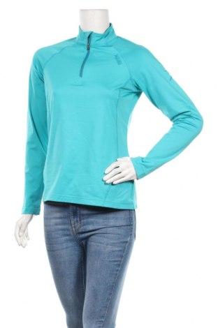 Дамска спортна блуза Vittorio Rossi, Размер M, Цвят Син, 95% полиестер, 5% еластан, Цена 15,12лв.