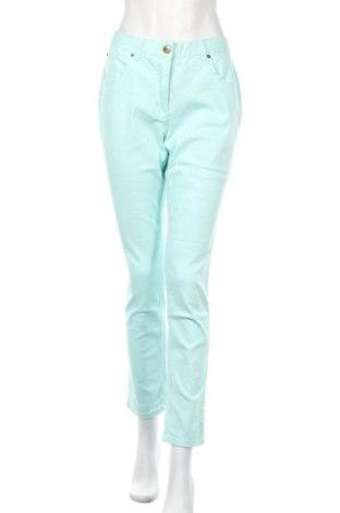 Дамски дънки Cheer, Размер L, Цвят Син, 98% памук, 2% еластан, Цена 34,02лв.