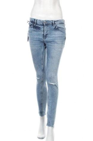 Γυναικείο Τζίν Mango, Μέγεθος M, Χρώμα Μπλέ, 98% βαμβάκι, 2% ελαστάνη, Τιμή 14,00€