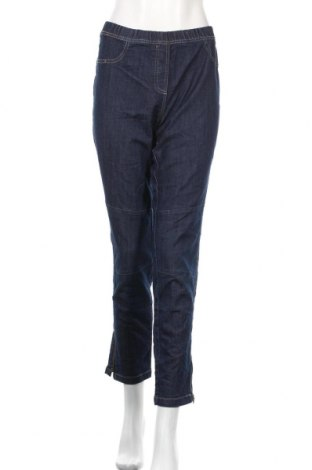 Дамски дънки Nkd, Размер M, Цвят Син, 73% памук, 25% полиестер, 2% еластан, Цена 15,70лв.
