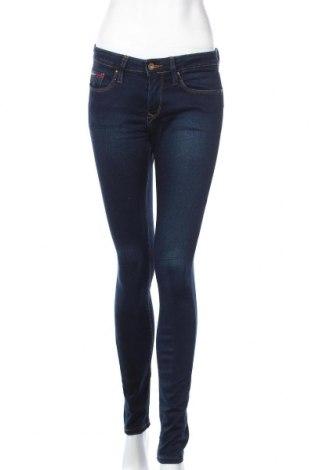 Дамски дънки Tommy Hilfiger, Размер S, Цвят Син, 55% памук, 35% лиосел, 8% полиестер, 2% еластан, Цена 55,86лв.