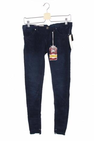 Γυναικείο κοτλέ παντελόνι Alcott, Μέγεθος M, Χρώμα Μπλέ, 97% βαμβάκι, 3% ελαστάνη, Τιμή 20,10€