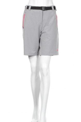 Дамски къс панталон CMP, Размер L, Цвят Сив, 89% полиестер, 11% еластан, Цена 19,76лв.