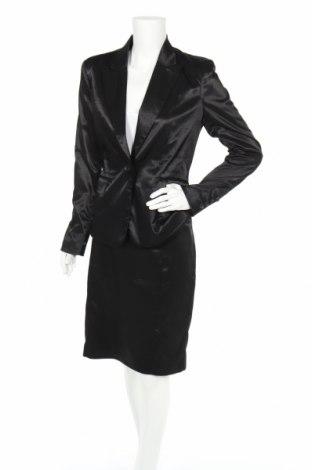 Дамски костюм Reserved, Размер L, Цвят Черен, 79% полиестер, 19% вискоза, 2% еластан, Цена 30,80лв.