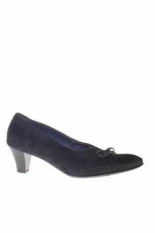Дамски обувки Ara, Размер 38, Цвят Черен, Естествен велур, Цена 69,16лв.