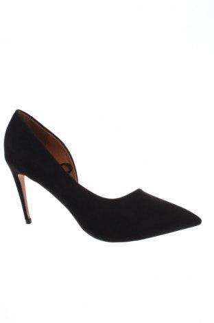 Дамски обувки Reserved, Размер 39, Цвят Черен, Текстил, Цена 35,15лв.