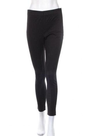 Дамски панталон Hampton Republic, Размер M, Цвят Черен, 55% вискоза, 40% памук, 5% еластан, Цена 15,59лв.