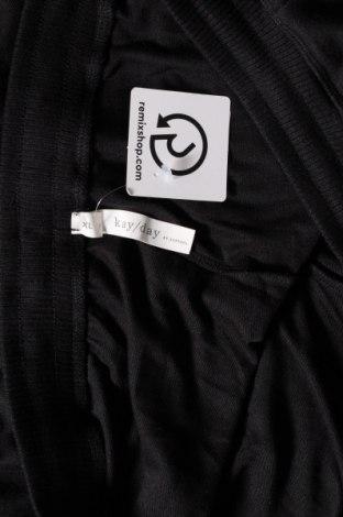 Дамско спортно долнище KappAhl, Размер XL, Цвят Черен, 55% полиестер, 41% вискоза, 4% еластан, Цена 28,35лв.